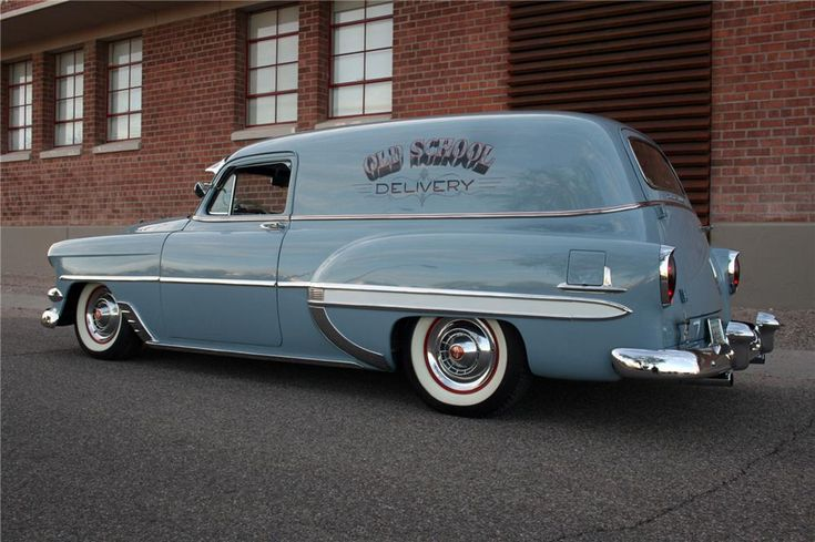 1954 CHEVROLET SEDAN DELIVERY Lot 690.1   Barrett-Jackson Auction Company