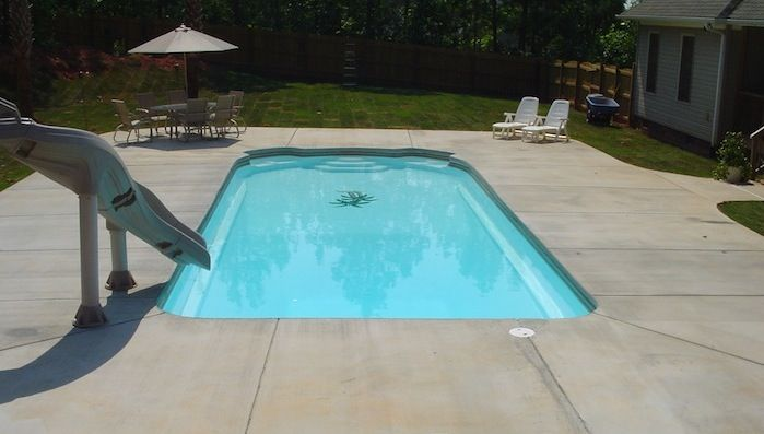 44 Best Images About Inground Pools On Pinterest Stone Landscaping Swimming Pool Designs And