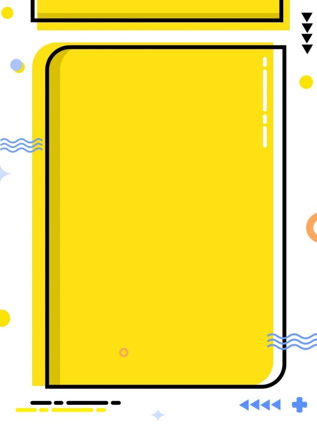 Yellow Minimalist Young Meb Style Cute Fun Background Graphic Design Fun Powerpoint Background Design Poster Background Design