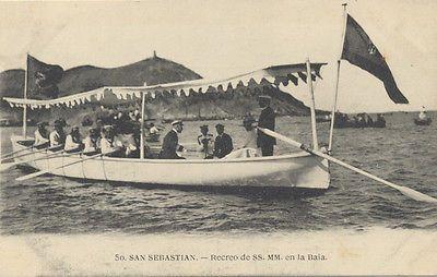 La trainera real (escampavía), para ir al Giralda o pasear por la bahía