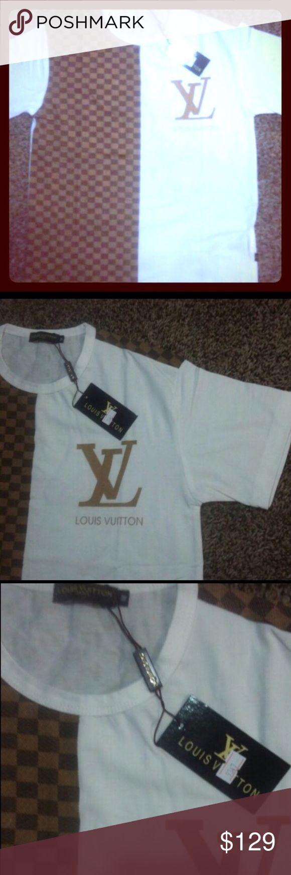 NWT Mens Louis Vuitton Dramier Long Sleeve Shirt Brand New w tags Louis Vuitton Shirts Tees - Long Sleeve