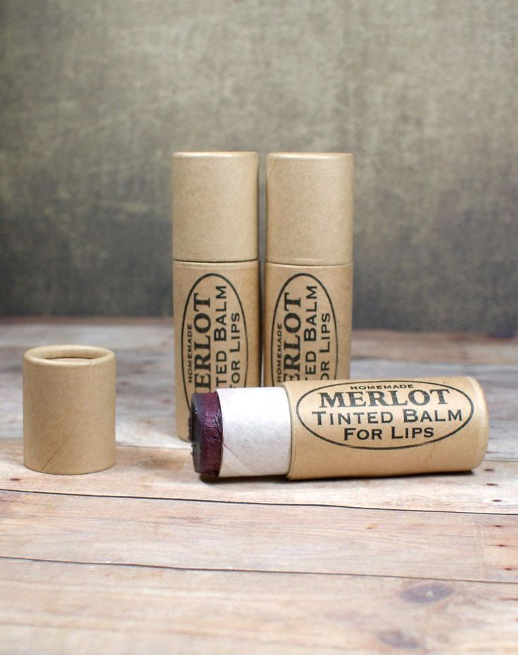 This merlot tinted lip balm recipe creates a super moisturizing tinted lip balm for lips that look and feel fabulous! Plus free printable lip balm labels for gifting!