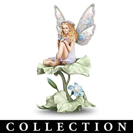 Floral   fairy      Lena Liu Floral Art Fairy Figurine