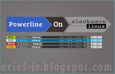 My Little Notes: [How To] Add Powerline In KDE Konsole In Slackware...