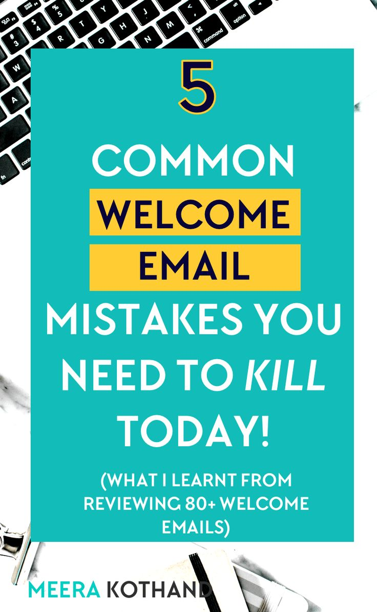 Does your welcome email disappear and fizzle out in your subscribers' inbox? In this post, I'll walk you through the mistakes I've seen in all the welcome emails I've reviewed so that you can makeover yours and move on to flesh out a welcome email series or sequenceof emails. via @meerakothand
