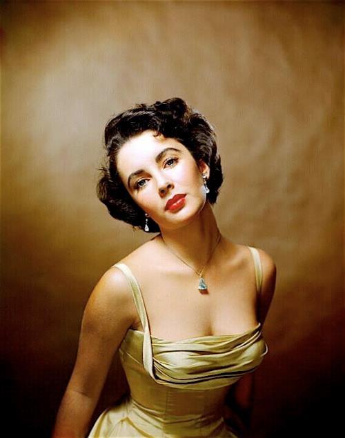 Portrait Elizabeth Taylor