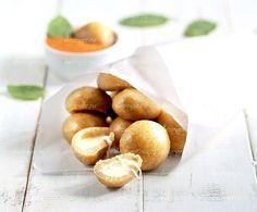 Просто бесподобная вкусная закуска - полезные сырные пончики с томатном-медовым…