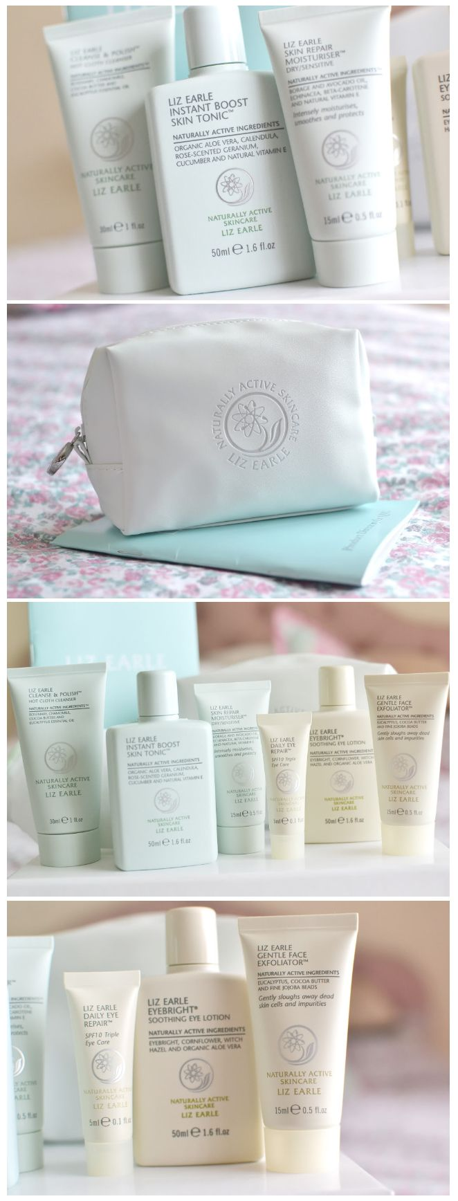Temporary Secretary | Liz Earle Starter Set review
