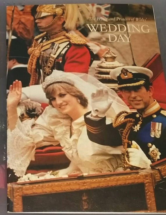 Check out this item in my Etsy shop https://www.etsy.com/ca/listing/571419238/vintage-royal-wedding-day-book-princess