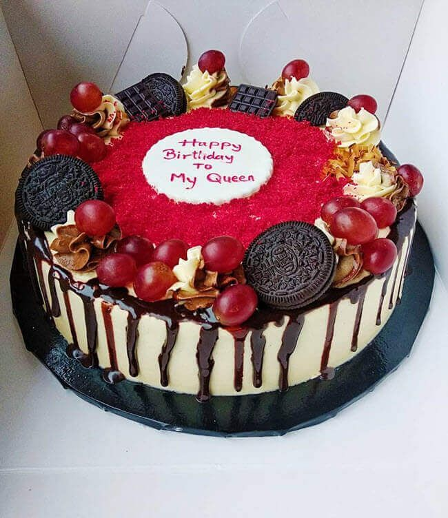 40 Red Velvet Cake Design Cake Idea January 2020 40 Red Velvet