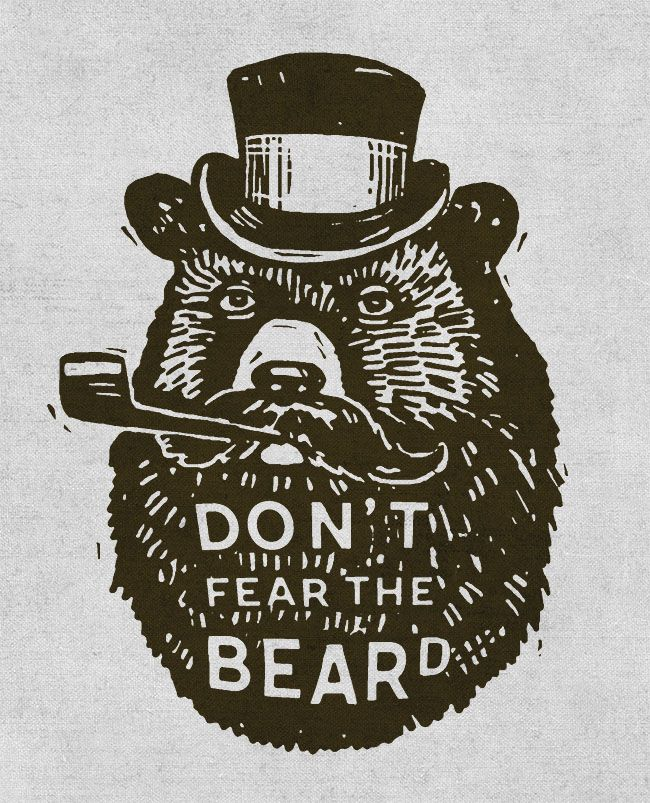 Don't fear the beard!