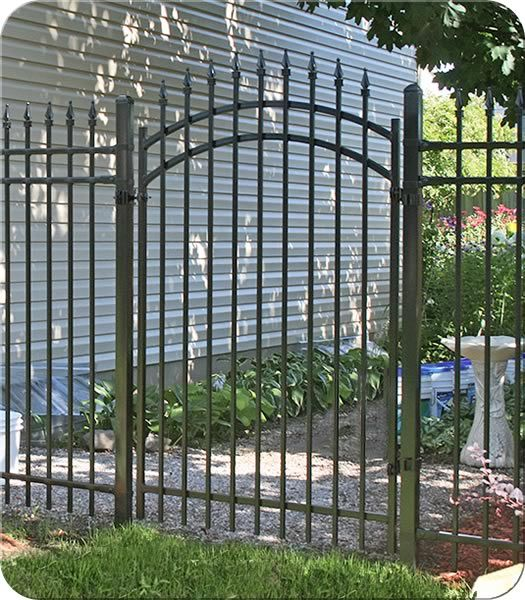 Arched Stamford Iron Gate  Fence-All