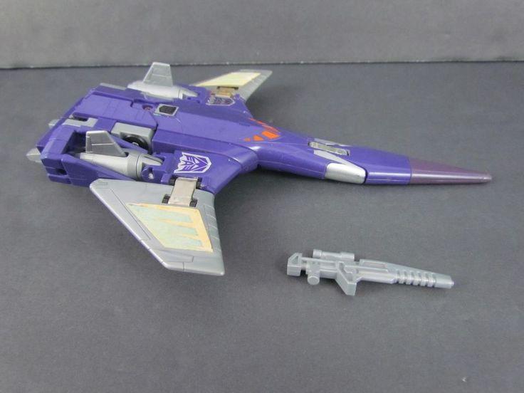 Vtg CYCLONUS 100% Complete 1986 G1 Transformers Action Figure Decepticon HTF #Hasbro