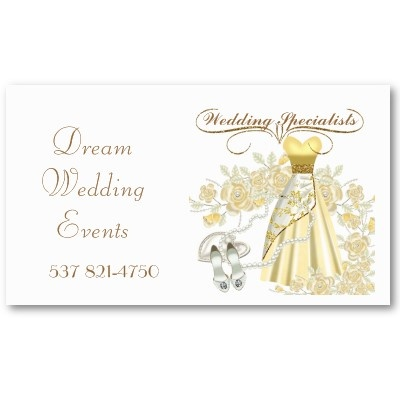 Elegant Professional Business Card This Is Suitable For Wedding Planners Catering
