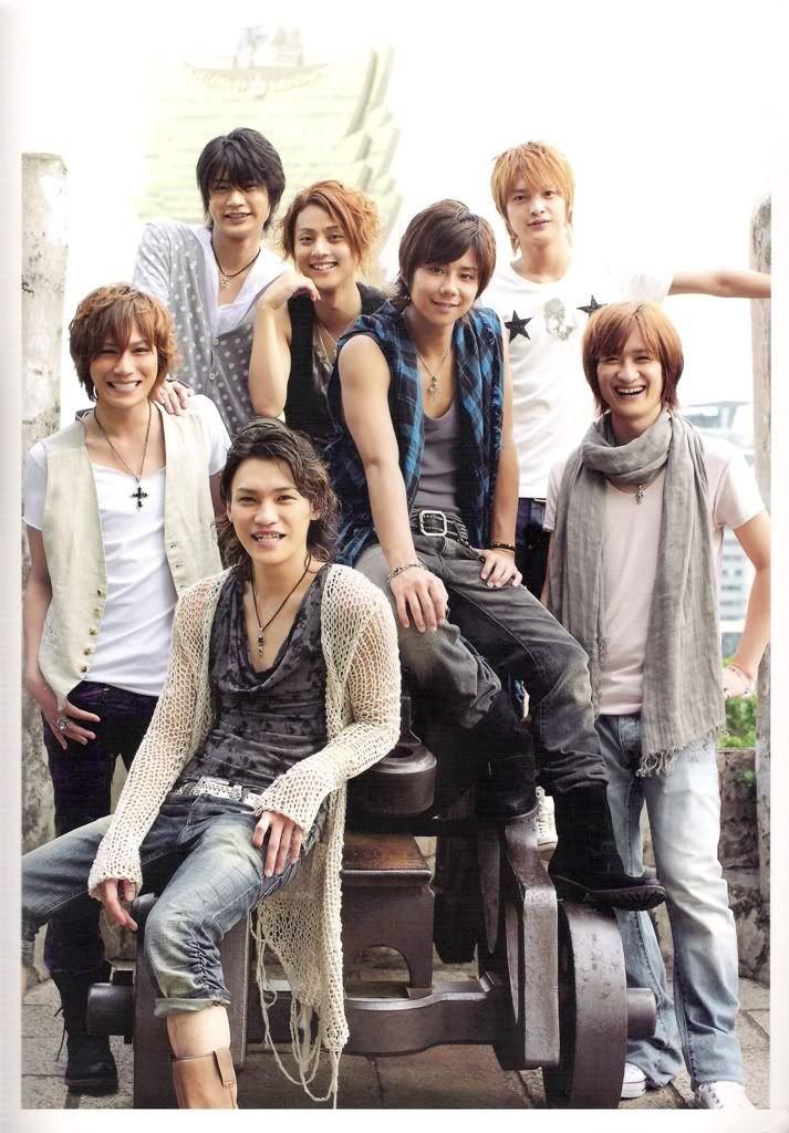 Kis-My-Ft2: Their name comes from their members' names: Hiromitsu Kitayama, Kento Senga, Toshiya Miyata, Wataru Yokō, Taisuke Fujigaya, Yūta Tamamori and Takashi Nikaidō (ni is Japanese for the number 2).