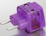Pin now Read later! Need to know... Electrical Plug Adapter USA to Continental Europe