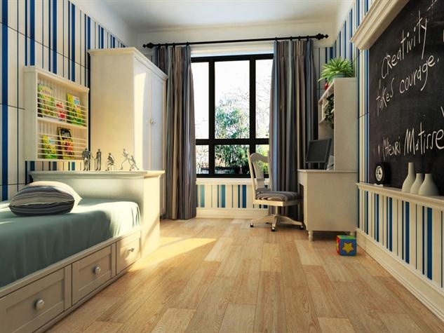 Tile wood for the kids room Interceramic