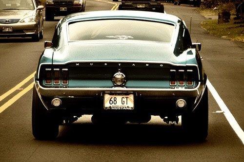 Mustang 68 GT