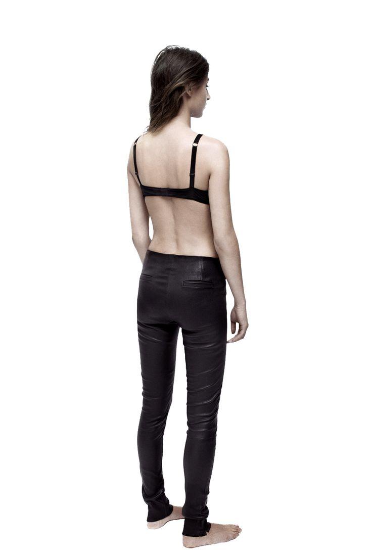 Leather leggings, model