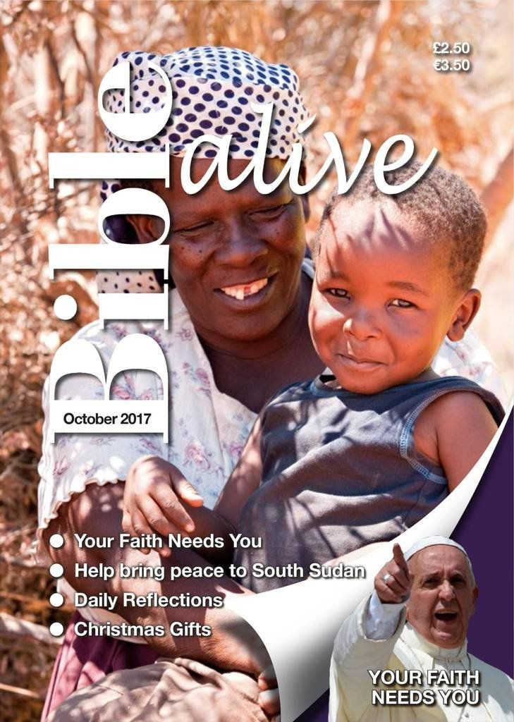Bible Alive. Bible Alive is a popular monthly Catholic scripture magazine with a monthly circulation of 30,000. The essence of Bible Alive are the reflections on one of the daily and Sunday Mass readings. Each edition carries features highlighting a topical or cutting edge issue relating to living faith today.