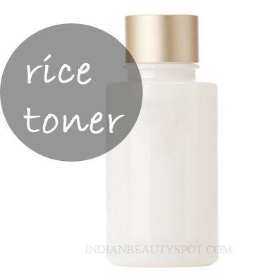 Rice Water Toner to tighten pores