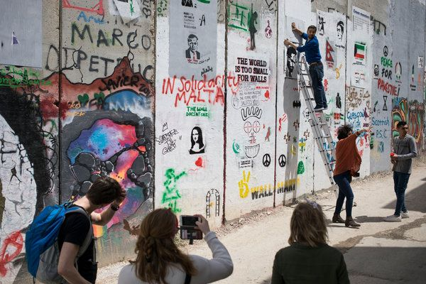 Banksy Hotel in the West Bank: Small, but Plenty of Wall Space