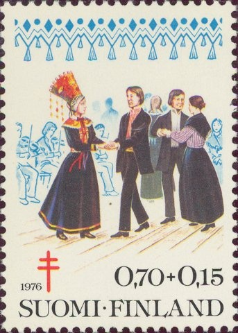 1976 Finland - Wedding dance accompanied by violins