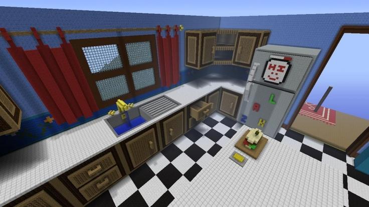 The Giant House Giant Kitchen Minecraft Xbox 360 Pinterest