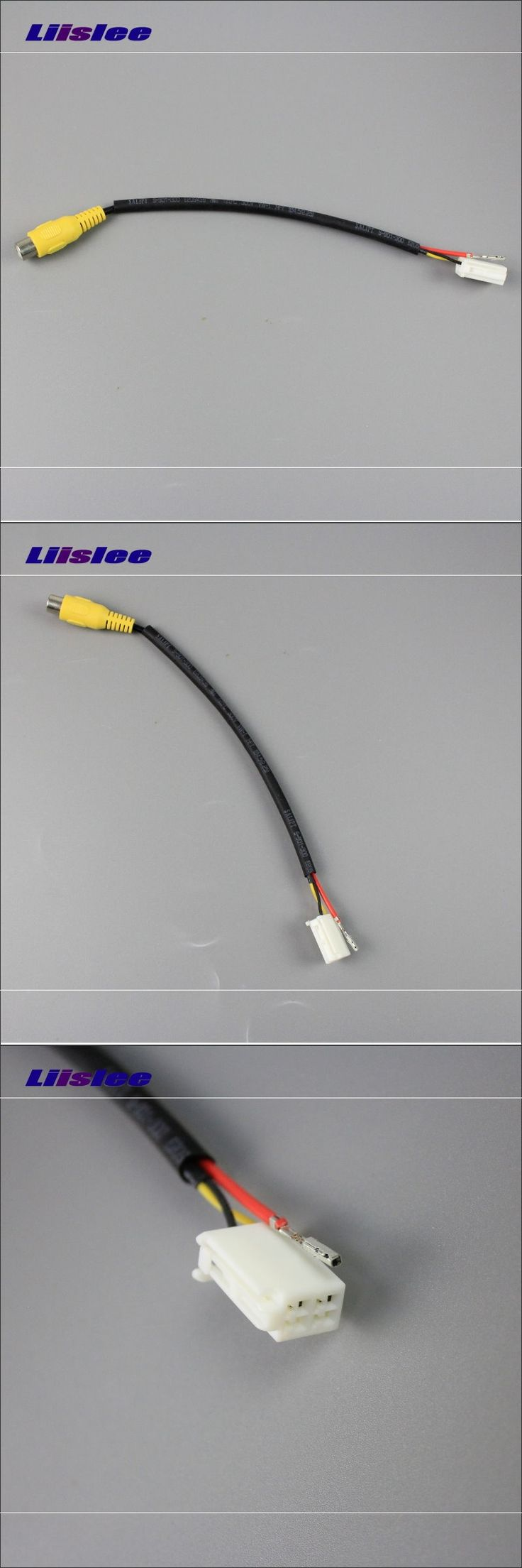 Original Display Input RCA Wire For Mazda 6 Mazda6 / Mazda Atenza 2012~2014 Rear Back Camera Switch Adapter Connector Cable