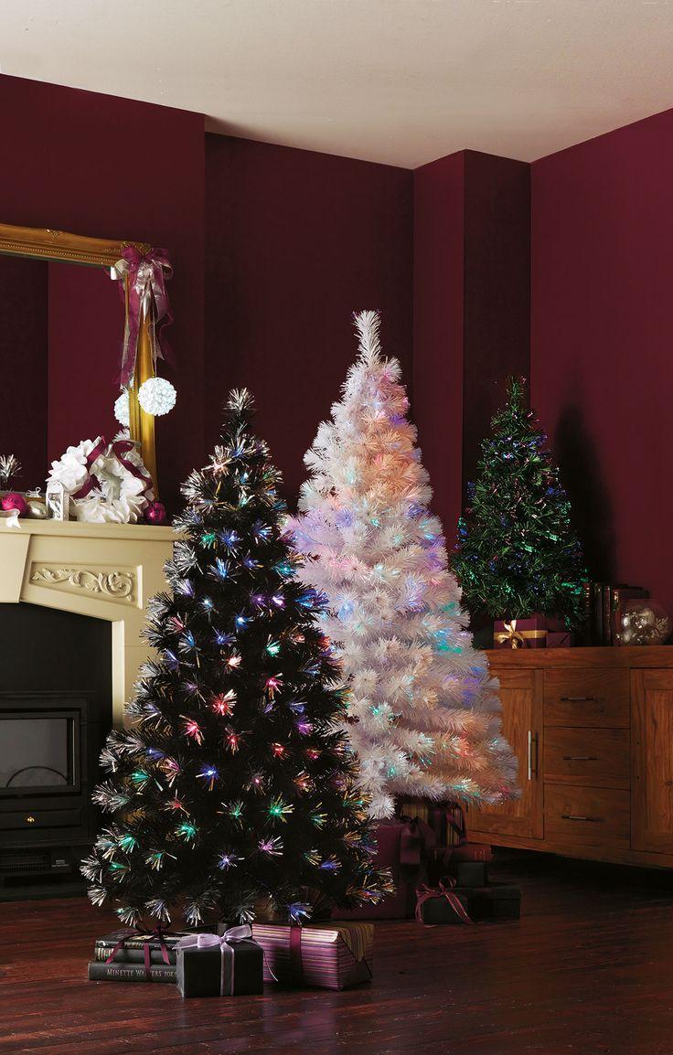 White Light Christmas Tree