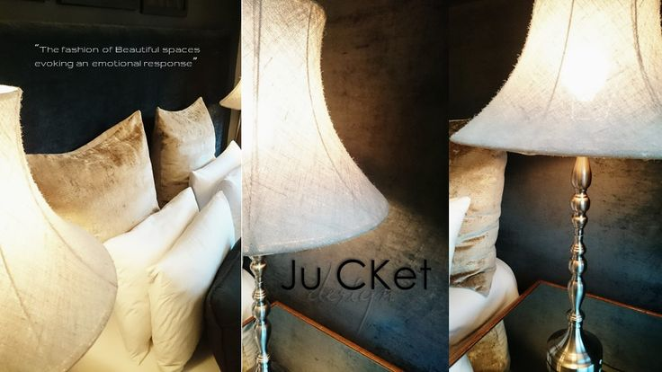Project and Photography by Ju'CKet DESIGN - RESIDENTIAL Bedroom make-over. Headboard Hertex Fabric - Black Diamond