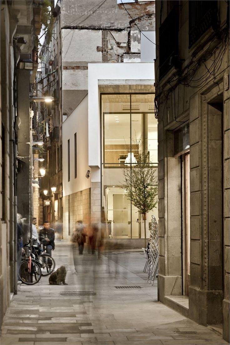 Picasso Museum Annex, Barcelona, Spain, 2011