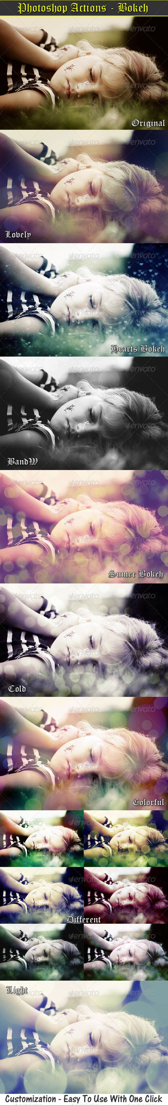 Photo Actions - Bokeh Effects - GraphicRiver $4
