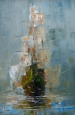 Saatchi Online Artist Justyna Kopania; Painting, Mist #art