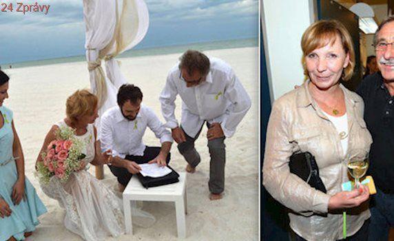 Žena Pavla Zedníčka Hanka: Peníze za svatební fotky půjdou na novou ledvinu!