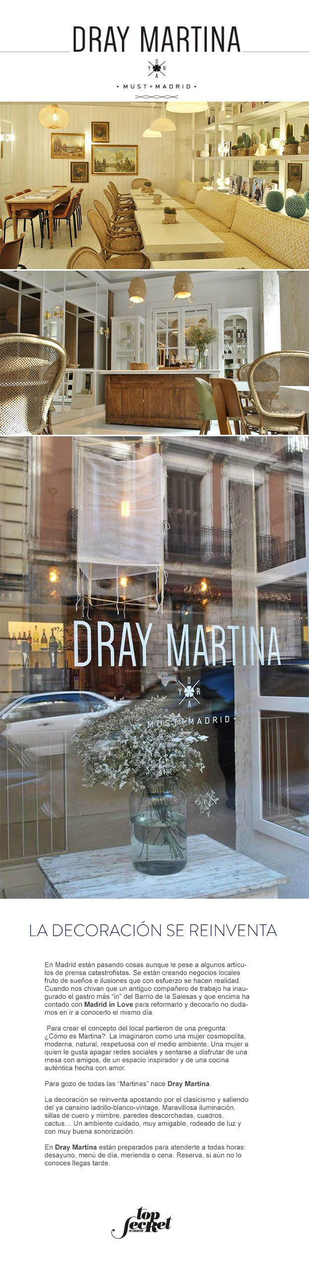 Dray martina madrid la decoraci n se reinventa topsecretmadrid cafeteria pinterest madrid - Decoracion madrid ...