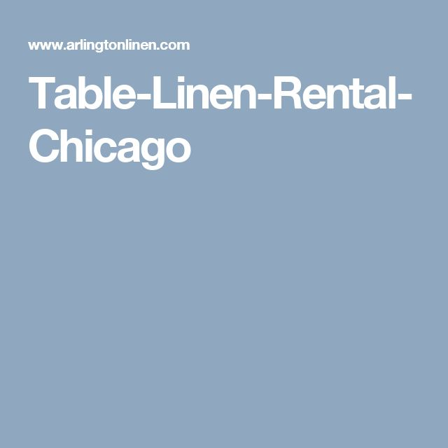 Table-Linen-Rental-Chicago