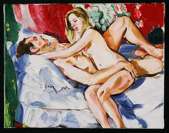 Sandra Fisher Untitled 1987 oil on canvas, 20 x 25 inches  Collection of Max Kitaj (c) Estate of Sandra Fisher