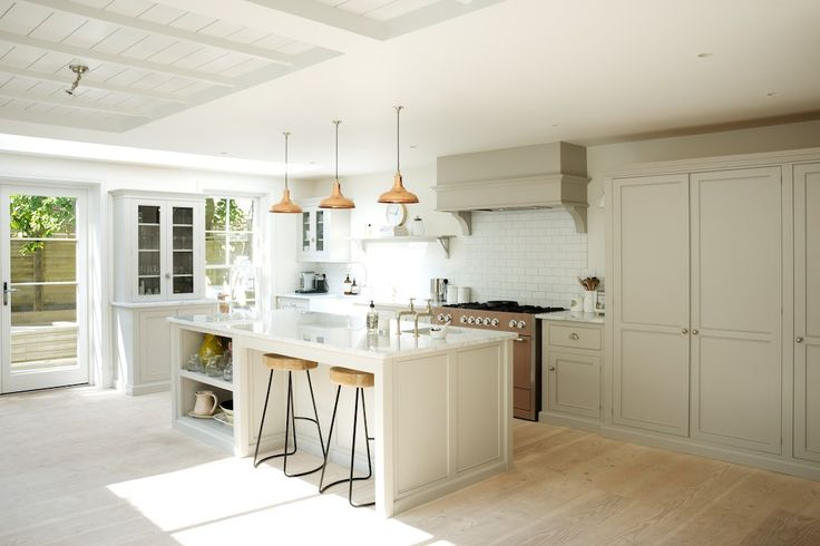 Simple furniture, beautifully made. The Classic English Kitchen by deVOL.