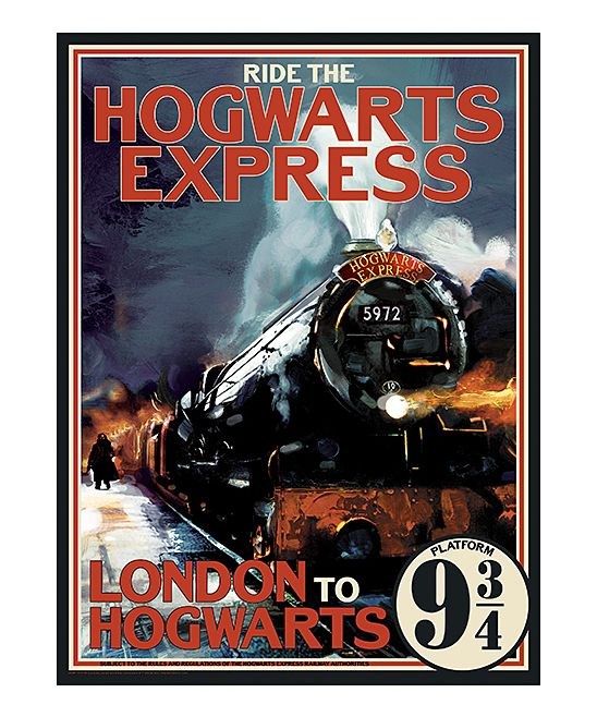 Ride the Hogwarts Express 1000-Piece Puzzle