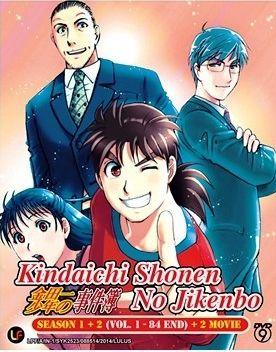 DVD ANIME Kindaichi Shonen no Jikenbo Season 1+2 + 2 Movie Kindaichi Case Files