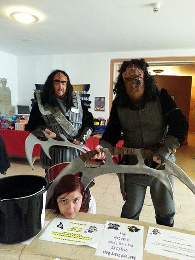 The Klingons invaded Pirate Weekend and took Lauren with them