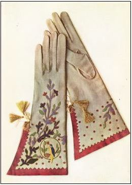Late 1920's style vintage gloves