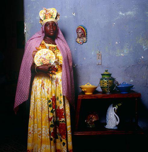 Santeria Practioner, Cuba    Phyllis Galembo
