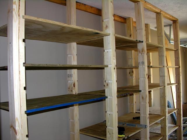 Garage Shelves To Keep Your
