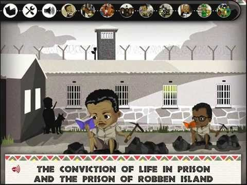 Nelson Mandela Story and Games | Top Best Apps For Kids - YouTube