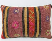 violet kilim pillow 16x24 hippie pillow cover throw pillow couch bedroom pillow case primitive pillow cover contemporary pillow lumbar 21223