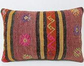 violet kilim pillow 16x24 hippie pillow cover throw pillow couch bedroom pillow case primitive pillow cover contemporary pillow lumbar 21223