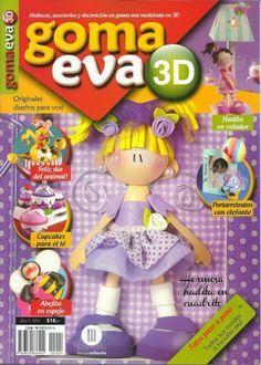 Revistas de manualidades Gratis: Revista de Goma Eva 3D