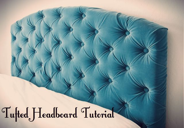 This is so sexy! I want it for my bedroom!  #decor #sexy #chiq #modern #fun #bedroomdecor #tutorial #headboarddiy #diy #crafts